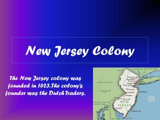 New Jersey Colony