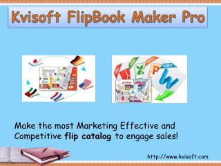 Design a Flip Catalog to Engage More Attentions