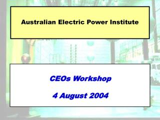 Australian Electric Power Institute