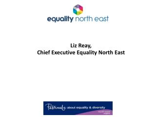 Liz Reay,  Chief Executive Equality North East
