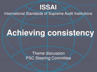 Theme discussion PSC Steering Committee