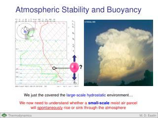 We just the covered the  large-scale hydrostatic  environment…