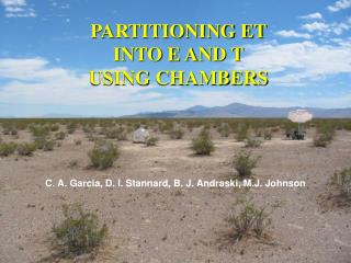 PARTITIONING ET INTO E AND T USING CHAMBERS