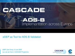 eDEP as Tool for ADS-B Validation