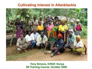 Cultivating Interest in Allanblackia