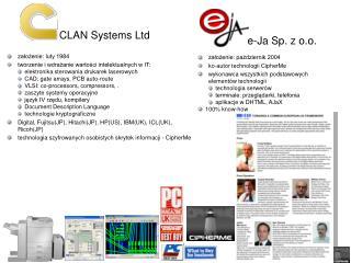 CLAN Systems Ltd