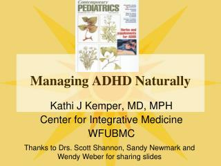 Managing ADHD Naturally