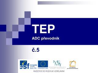 TEP ADC  převodník
