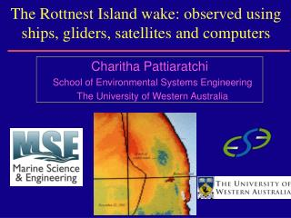 The Rottnest Island wake: observed using ships, gliders, satellites and computers