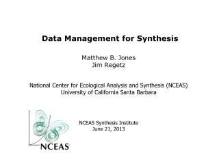 Data Management for Synthesis