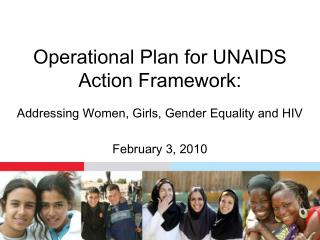 Operational Plan for UNAIDS Action Framework: