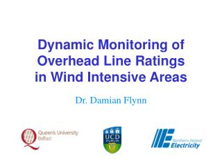 Dynamic Monitoring of Overhead Line Ratings  in Wind Intensive Areas