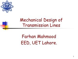 Mechanical Design of Transmission Lines