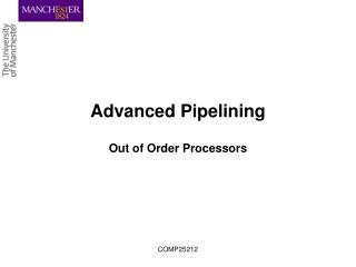 Advanced Pipelining
