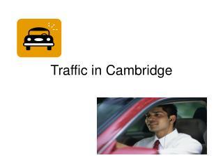 Traffic in Cambridge