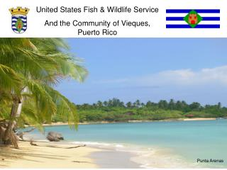 United States Fish & Wildlife Service And the Community of Vieques,    Puerto Rico