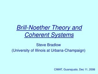 Brill-Noether Theory and Coherent Systems
