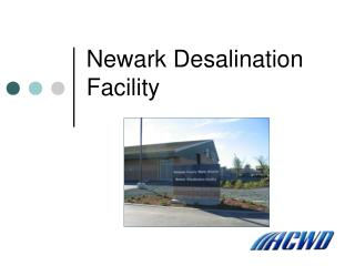 Newark Desalination Facility