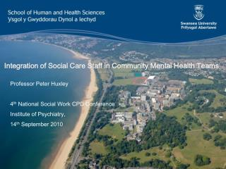 Integration of Social Care Staff in Community Mental Health Teams