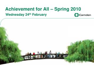 Achievement for All – Spring 2010