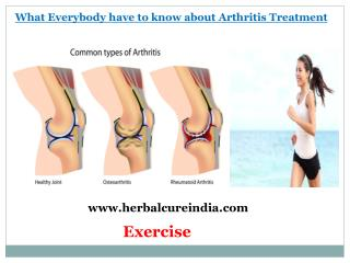 What Everybody have to Know about Arthritis Treatment