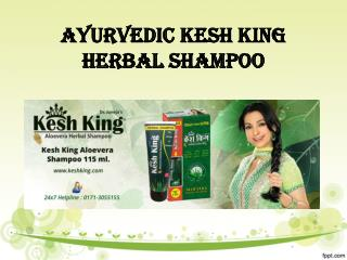 AYURVEDIC KESH KING HERBAL SHAMPOO