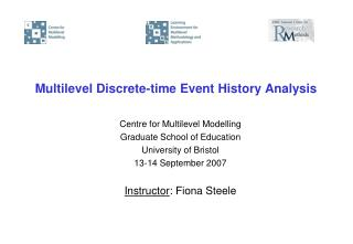 Multilevel Discrete-time Event History Analysis