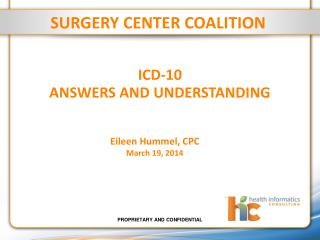 Icd-10  answers and understanding