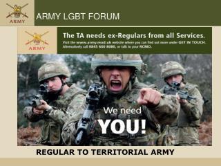 ARMY LGBT FORUM