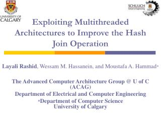 Exploiting Multithreaded Architectures to Improve the Hash Join Operation