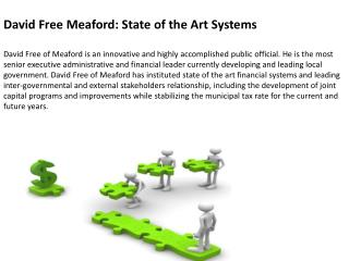David Free Meaford: An Accomplished Administrator