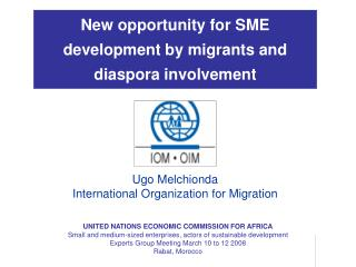 New opportunity for SME development by migrants and diaspora involvement