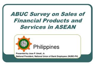ABUC Survey on Sales of Financial Products and Services in ASEAN