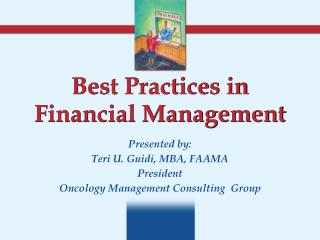 Best Practices in Financial Management
