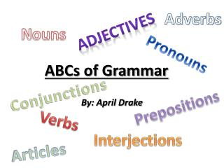 ABCs of Grammar