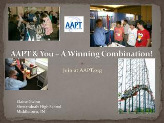 AAPT & You – A Winning Combination!