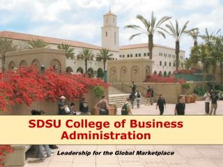 SDSU College of Business Administration