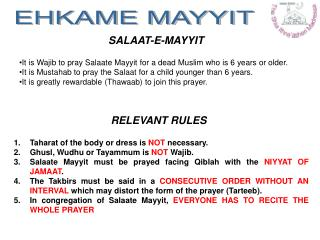 It is Wajib to pray Salaate Mayyit for a dead Muslim who is 6 years or older.