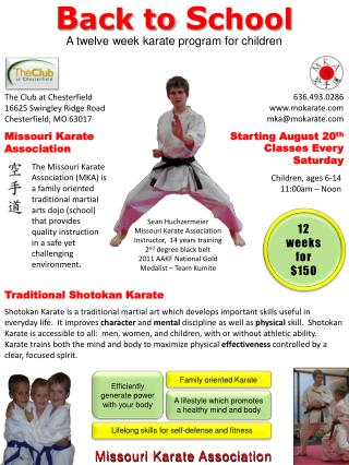 Missouri Karate Association