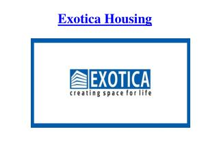 Exotica Housing:Extra Ordinary Real Estate Grorup