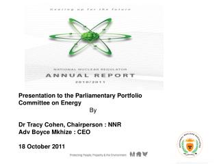 Presentation to the Parliamentary Portfolio Committee on Energy By
