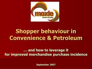 The merchandise incidence opportunity