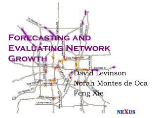 Forecasting and Evaluating Network Growth