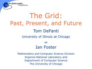 The Grid: Past, Present, and Future