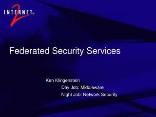 Federated Security Services