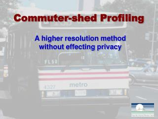 Commuter-shed Profiling