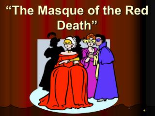 human mortality in masque of red