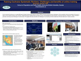 What is the potential for Cochrane systematic reviews in Iran?