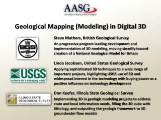 Geological Mapping (Modeling) in Digital 3D