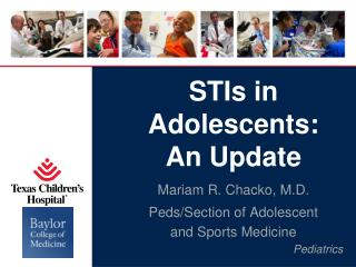 STIs in Adolescents: An Update